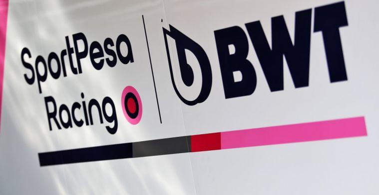 Titelsponsor Racing Point ontkent dat het op het punt staat failliet te gaan