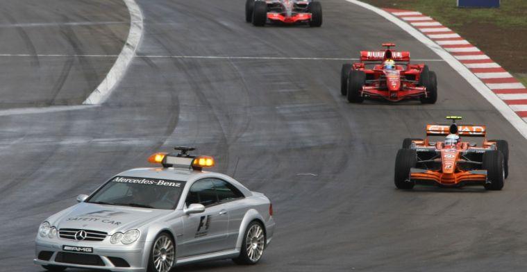 Precies 12 jaar geleden pakte een Nederlandse auto de leiding in een Grand Prix
