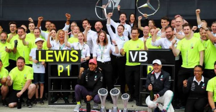 Bottas writes off rivals: It seems like a matter between Lewis and me