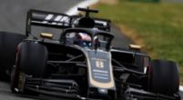 """Image: Grosjean: """"It was a tough call from the team, but a good test"""""""
