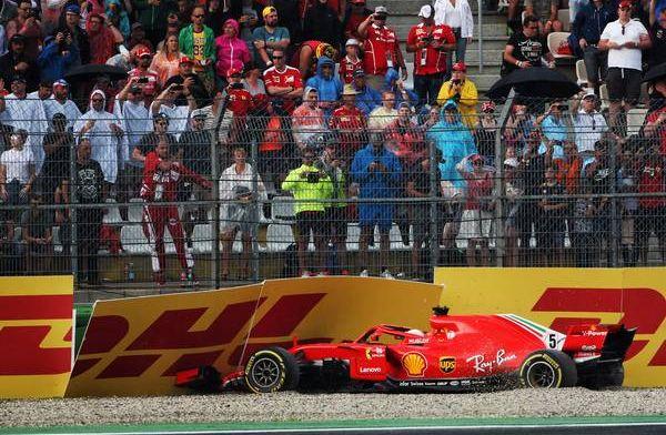 Vettel admits Ferrari need to make amends at German Grand