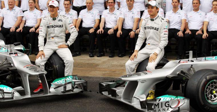 Rosberg: Wat ik van Schumacher geleerd heb, hielp mij bij behalen wereldtitel