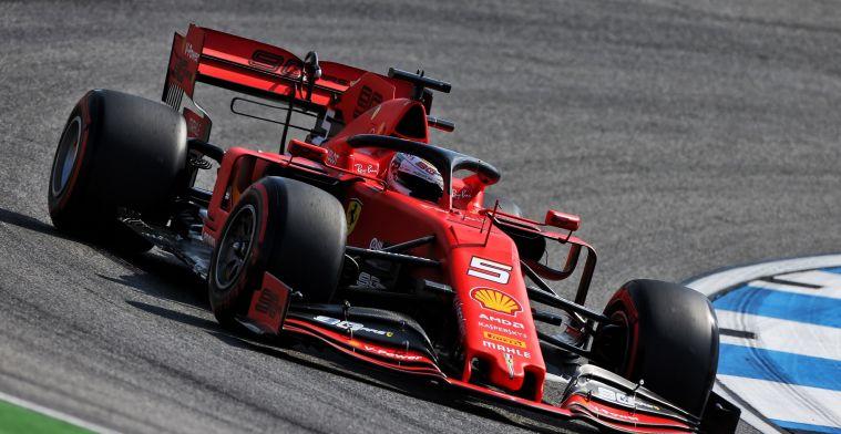 Samenvatting VT1 GP Duitsland: Vettel de snelste in de hitte, Verstappen op P4!