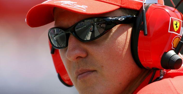 Volgens Todt is er voortgang in gezondheid Schumacher: Samen race gekeken