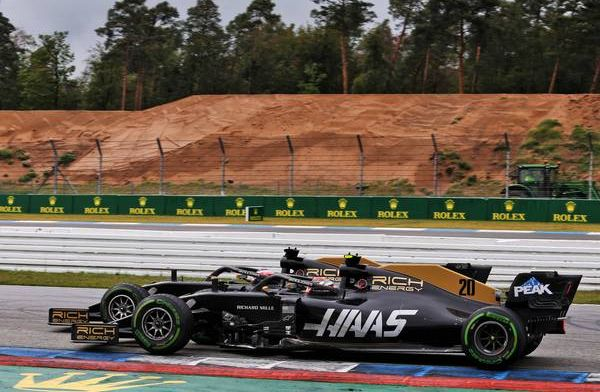Haas drivers still at war despite double Hockenheim points