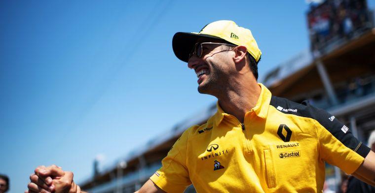 Ricciardo: Heb meer geleerd bij Renault dan dat ik bij Red Bull zou kunnen