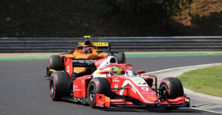 Mick Schumacher opens Formula 2 account
