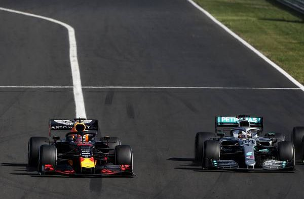 Champion Hamilton relishing new rivalry with Verstappen