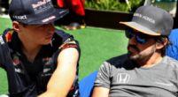 """Afbeelding: Hamilton ziet in Alonso teammaat Verstappen: """"Jullie hebben een leeg stoeltje..."""""""