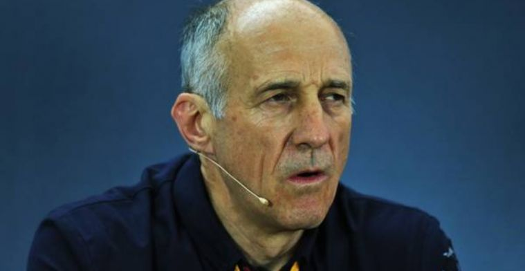 Franz Tost recharging batteries before second half push