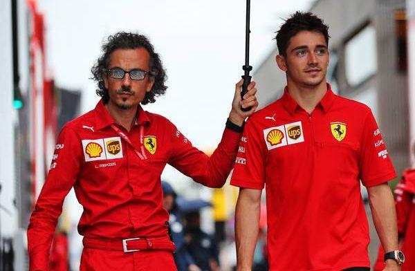 Charles Leclerc to drive Ferrari car behind closed doors at Monza