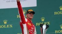 "Image: Schumacher happy to be ""over the period of bad luck"" after first F2 win"