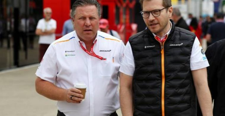 Brown pleased with McLaren form but is not resting on his laurels
