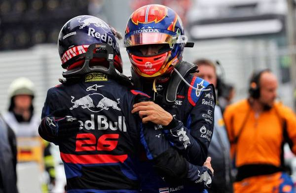 Alex Albon: I relied on the feedback from Daniil Kvyat at the start of the season