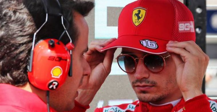 Who is the best driver Leclerc has raced against?