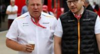 Image: Brown pleased with McLaren form but is not resting on his laurels