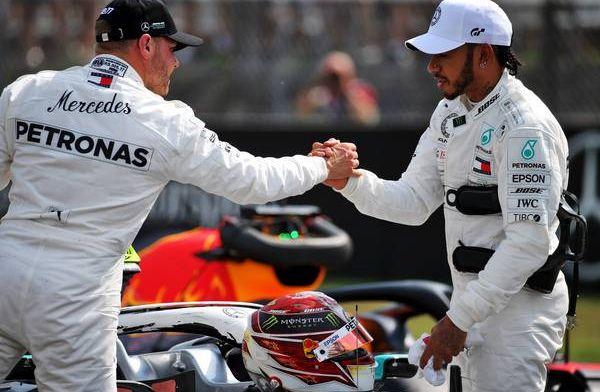 Toto Wolff asking Lewis Hamilton's opinion on Bottas/Ocon decision
