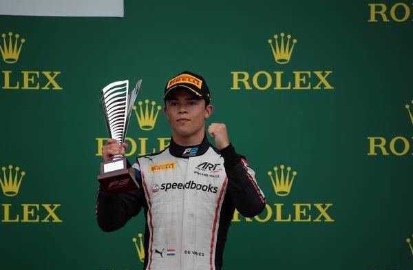 De Vries nog niet bezig met de Formule 1: ''Dat meen ik oprecht''