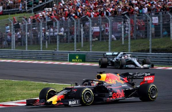 Verstappen says there are 3 or 4 drivers as good as Hamilton