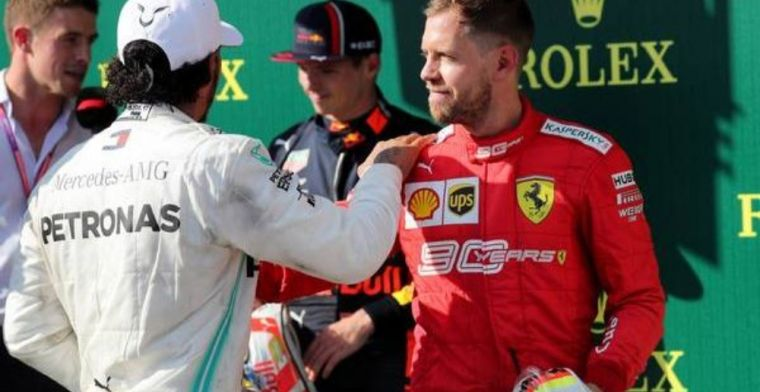 Could Sebastian Vettel and Lewis Hamilton swap places?