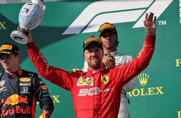 "Lewis Hamilton: Sebastian Vettel is still a ""formidable competitor"""
