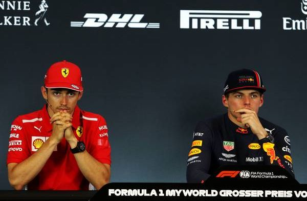 Max Verstappen: Charles Leclerc is not the only one I expect to fight with