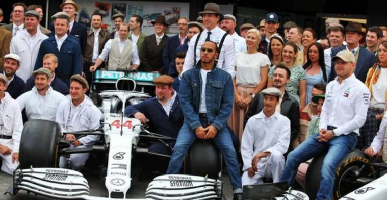 Hamilton praises Mercedes for never being complacent