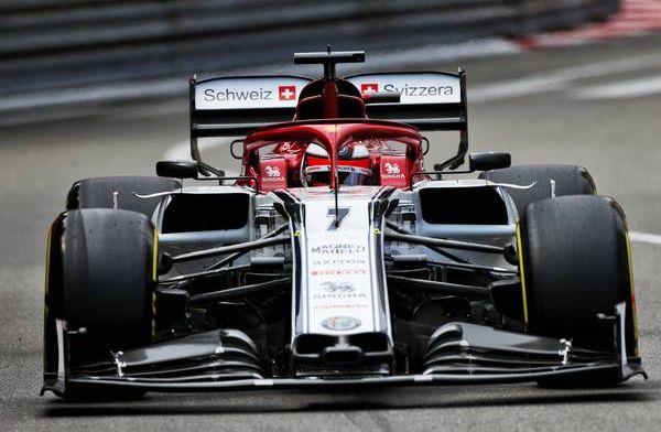 Kimi Raikkonen understands that he's not at Ferrari or Mercedes