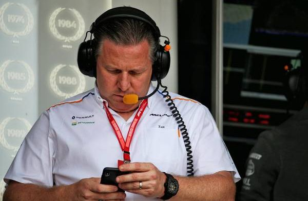 Zak Brown believes Formula 1 should stop trying to make perfect rules