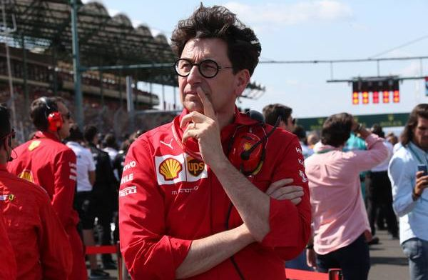 "Mattia Binotto questions ""current process"" of 2019 tyre specification"