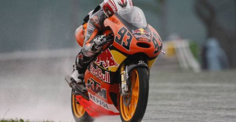 Moto GP champion Marc Marquez suggests F1 could be an option!