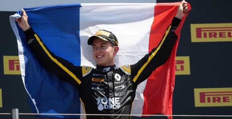 F2-coureur Hubert over contact met Prost: Hij gaf mij veel nuttige tips