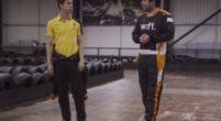 Afbeelding: KIJKEN Kan een F1 testcoureur gemakkelijk het ronderecord op kartbaan verbreken?