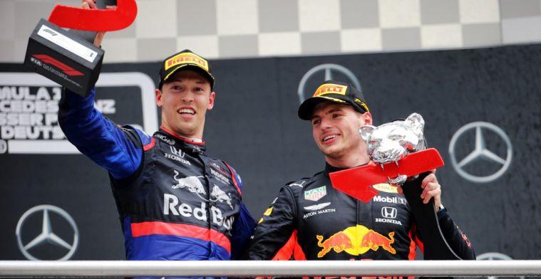 Daniil Kvyat respecteert beslissing Red Bull om voor Albon te kiezen