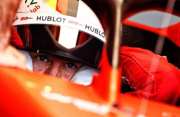 Ferrari gaining a second in first sector - Hamilton