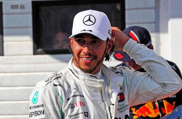 Lewis Hamilton is ready for a MotoGP challenge with Marc Marquez