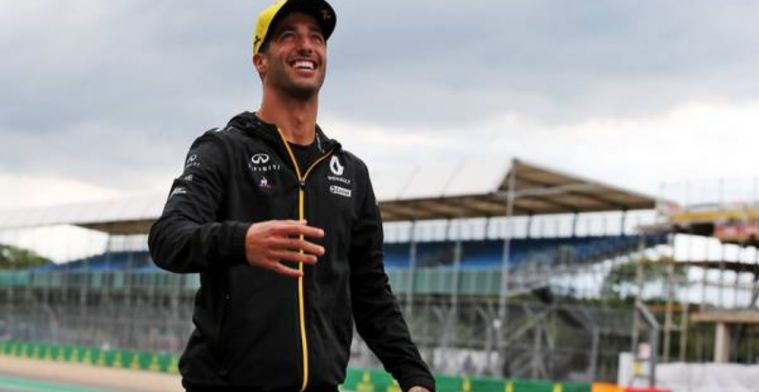 Ricciardo not shying away from Renault's difficult season so far