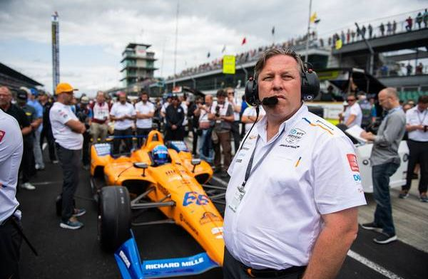 Zak Brown says McLaren still have a long way to go