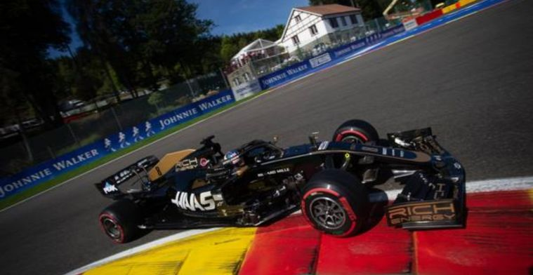 Grosjean satisfied with qualifying but is aware up the uphill battle on Sunday