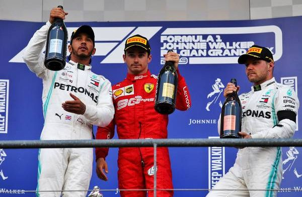 How does the driver's championship look after the Belgian Grand Prix?
