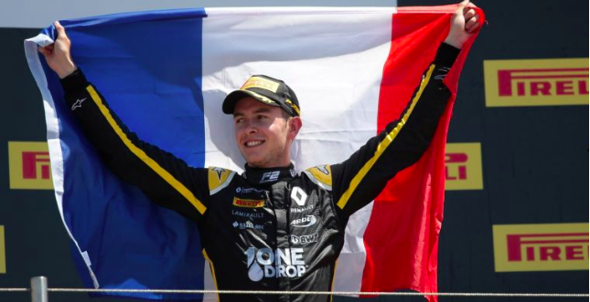 Renault responds to the death of Hubert: He was a true gentleman