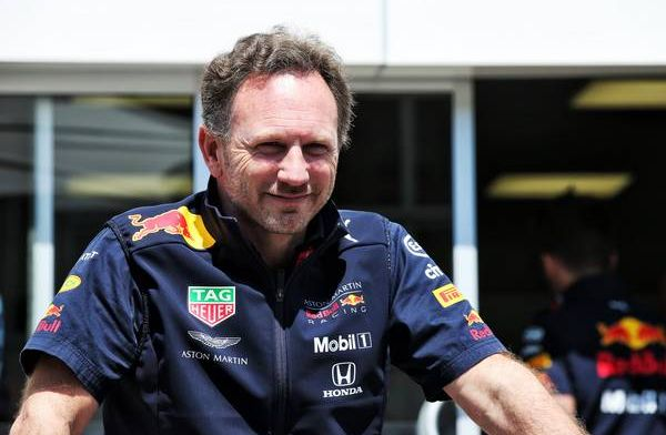 Christian Horner very impressed with Alex Albon's performance at the Belgian GP