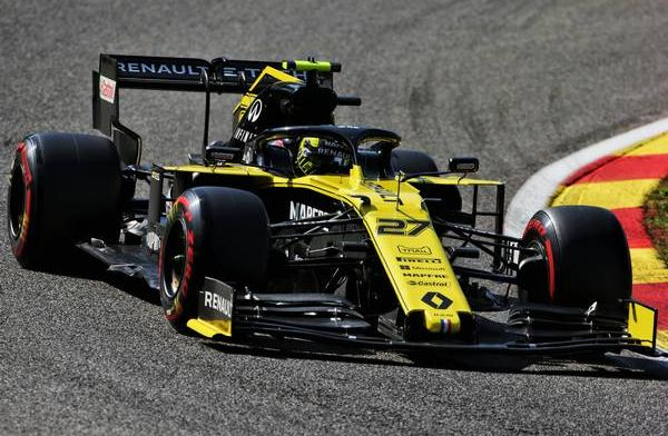 Hulkenberg admits he was lucky to grab P8 in Spa