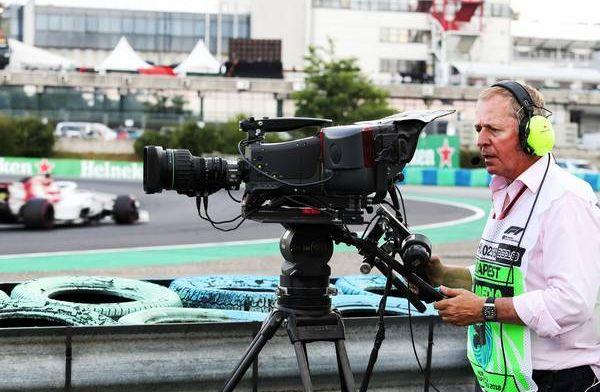 """Brundle relativeert: """"Verstappen poogde weer slechte start goed te maken"""