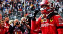 """Afbeelding: Brundle onder de indruk van Leclerc: """"Hij draagt Ferrari op zijn schouders"""""""