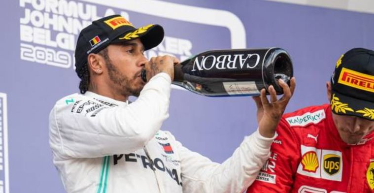 Hamilton admits it is really very difficult to imagine being anywhere else