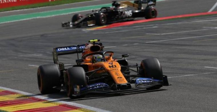 Lando Norris looking to bounce back after Spa disaster