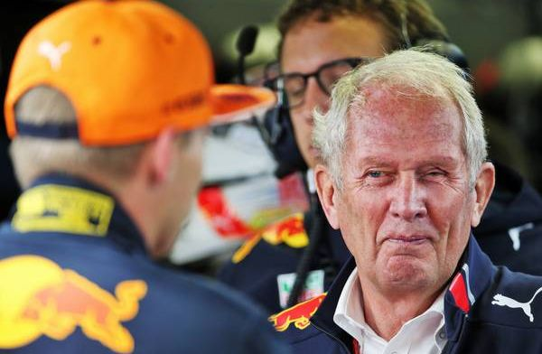 New Honda engine is noticeably better according to Helmut Marko