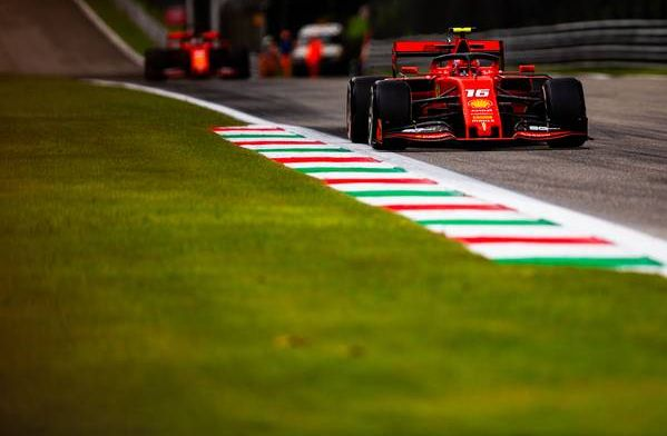 Leclerc sets the pace in Ferrari's home Grand Prix