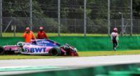 Afbeelding: Perez is niet tevreden met de regenbanden van Pirelli